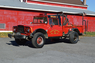 Former Brush 2 from Great Cacapon, a 1968 Kaiser M715/FD 350/350.  Ex military.