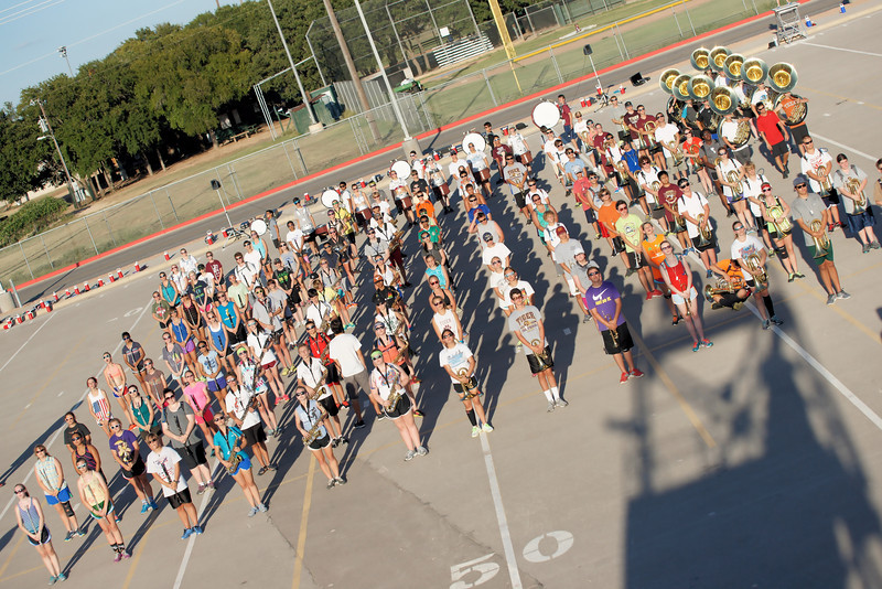 """Dripping Spring Band hard at work during night practice sessions Dripping Springs Band Practice 2013 Photography by Frank Newland Alamopics LLC. <a href=""""http://www.alamopics.com"""">http://www.alamopics.com</a> ©"""