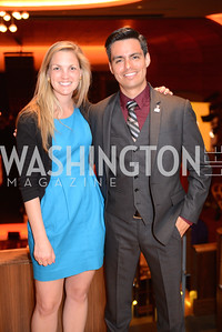 Share Our Strength's Julianne Gambert and Andy Villabona, Share Our Strength, No Kid Hungry, Dinner Gala at the Howard Theatre, June 2nd, 2015, Photo by Ben Droz.