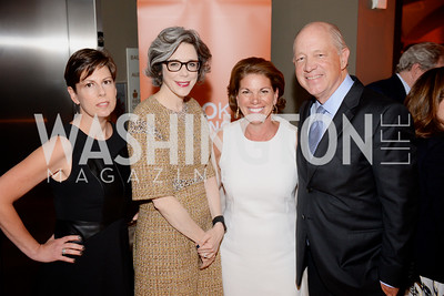 Amy Weiss, Heather Podesta, Rosemary Shore, and Billy Shore, Share Our Strength, No Kid Hungry, Dinner Gala at the Howard Theatre, June 2nd, 2015, Photo by Ben Droz.