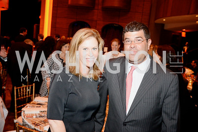 Stephanie Cutter, Cutter Media Strategies and Neal Wolin, US Dept of Treasury former Deputy Secretary, Share Our Strength, No Kid Hungry, Dinner Gala at the Howard Theatre, June 2nd, 2015, Photo by Ben Droz.