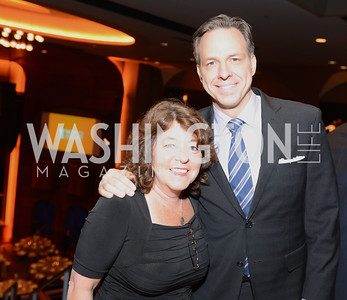 Share Our Strength's Debbie Shore and ABC News Correspondent Jake Tapper, Share Our Strength, No Kid Hungry, Dinner Gala at the Howard Theatre, June 2nd, 2015, Photo by Ben Droz.