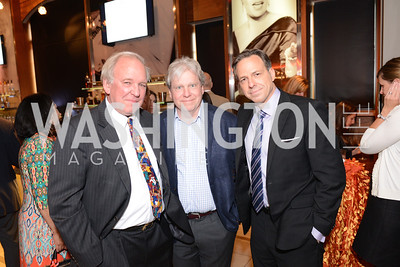 Mike McCurry, Joe Lockhart, and Jake Tapper, Share Our Strength, No Kid Hungry, Dinner Gala at the Howard Theatre, June 2nd, 2015, Photo by Ben Droz.
