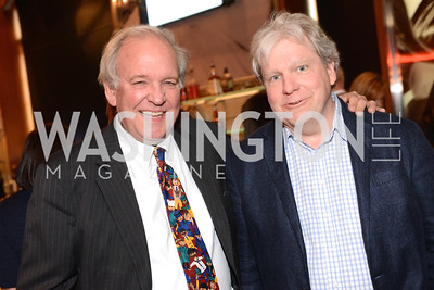 Mike McCurry and Joe Lockhart, Share Our Strength, No Kid Hungry, Dinner Gala at the Howard Theatre, June 2nd, 2015, Photo by Ben Droz.