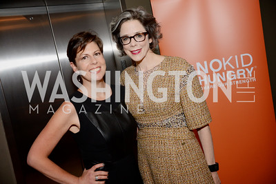 Amy Weiss of Weiss Public Affairs and Heather Podesta of Heather Podesta & Partners, Share Our Strength, No Kid Hungry, Dinner Gala at the Howard Theatre, June 2nd, 2015, Photo by Ben Droz.