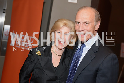 Nina Totenberg and Rob Liberatore, Share Our Strength, No Kid Hungry, Dinner Gala at the Howard Theatre, June 2nd, 2015, Photo by Ben Droz.