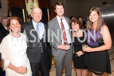 Rosemary Shore, Billy Shore, Lincoln Saunders, Debbie Shore, Ashley Saunders, Share Our Strength, No Kid Hungry, Dinner Gala at the Howard Theatre, June 2nd, 2015, Photo by Ben Droz.