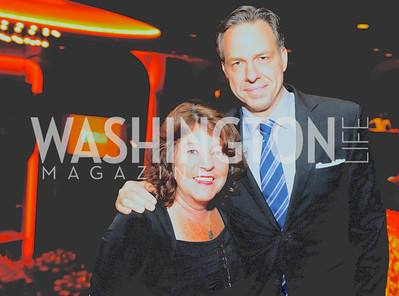 Share Our Strength Co-Founder Debbie Shore and CNN News Anchor Jake Tapper, Share Our Strength, No Kid Hungry, Dinner Gala at the Howard Theatre, June 2nd, 2015, Photo by Ben Droz.