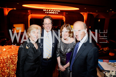 Nina Totenberg, Bob Taracchi, Donna Batcho, and Rob Liberatore, Share Our Strength, No Kid Hungry, Dinner Gala at the Howard Theatre, June 2nd, 2015, Photo by Ben Droz.