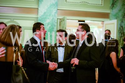 Drs. Mehrdad Massumi, Payman Katebi Kashani, and Reza Mirali, Iranian-American Nowruz Reception, The Willard Hotel Tuesday, March 31, 2015, photo by Ben Droz.