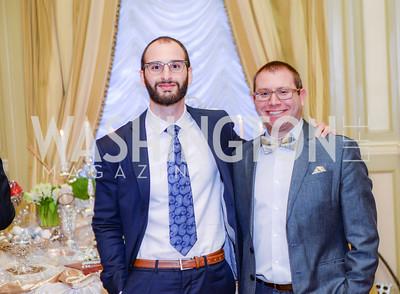 Babak Youssefi, Howard Liebers, Nowruz Reception, Willard Hotel, Iranian-American Nowruz Reception, The Willard Hotel, March 31, 2015, photo by Ben Droz