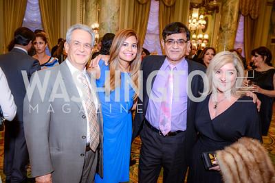 James Ghaisar, Leila Mansouri, Arya Mansouri, Kelly Ghaisar,  Iranian-American Nowruz Reception, The Willard Hotel