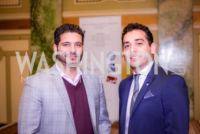 Iman Huschmand and Shahrooz Shekaraubi, Iranian-American Nowruz Reception, The Willard Hotel,  Tuesday, March 31, 2015, photo by Ben Droz.