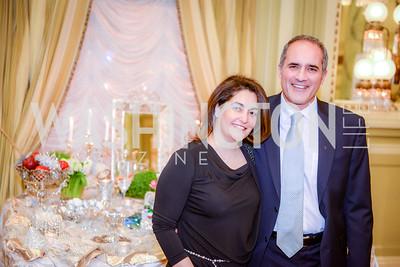Leila L. Arsanjani,  Farzin Arsanjani,  Iranian-American Nowruz Reception, The Willard Hotel