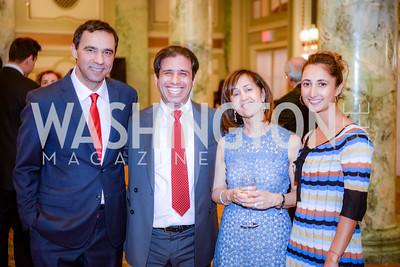 Alidad Mafinezam, Jahandad Memarian, Fahimeh (Fay) Moghtader, Michelle Moghtader,  Iranian-American Nowruz Reception, The Willard Hotel