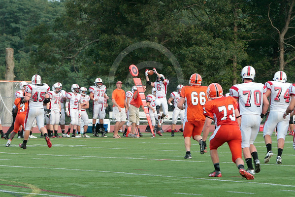 Oliver Ames Football and Cheer 2013