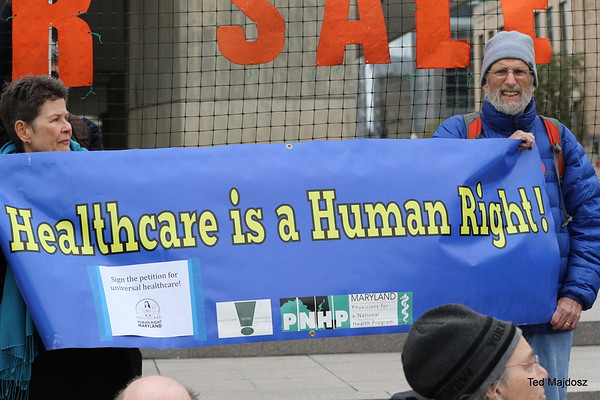 Our Health is NOT for Sale