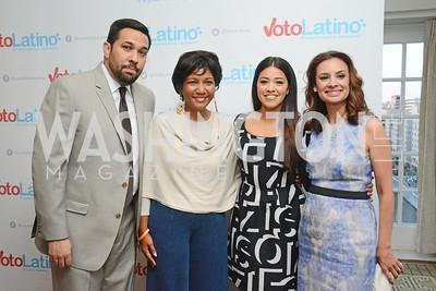 Reynaldo Casas, DeDe Lea, Gina Rodriguez, Maria Teresa Kumar