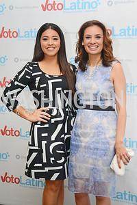 Gina Rodriguez, Maria Teresa Kumar