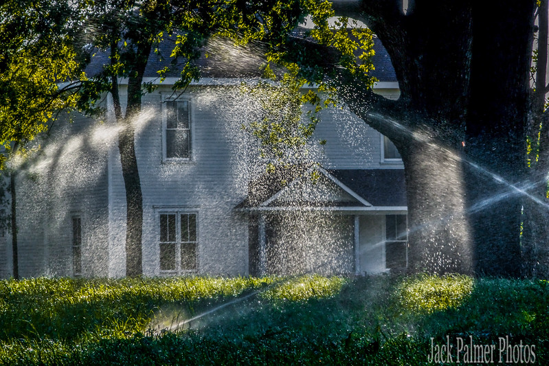 These water sprinkler shots were taken at Park Place back in 2007.  As was the last 4 images on this page.