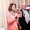 Leader Nancy Pelosi, Morris Pearl. Photo by Tony Powell. Patriotic Millionaires 5th Anniversary. Jefferson Hotel. November 17, 2015