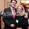 Lyndon Boozer, Amy Barbee. Photo by Tony Powell. Patriotic Millionaires 5th Anniversary. Jefferson Hotel. November 17, 2015