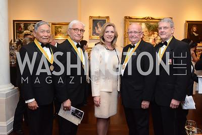 Frederick Pang, Anthony Principi, Deborah Lee James, Gordon Sullivan, Roger Thompson