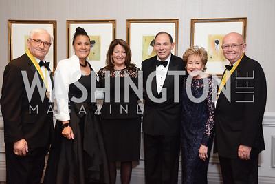 Anthony Principi, Betty Easely, Jane Whitfield, Robert McDonald, Elizabeth Dole, Gordon Sullivan