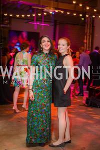 Serli, Tatiana Gulenkina, Phillips Contemporaries, Phillips Gala Bash, Tokyo Night, Union Market Dock 5, Friday May 8, 2015, photo by Ben Droz