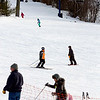 Skiers and snowboarders enjoy an afternoon on the slopes at Wachusett Mountain Ski Area in Princeton on Wednesday.<br /> SENTINEL & ENTERPRISE / BRETT CRAWFORD