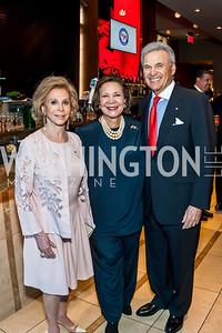 Wilma Bernstein, Alma Powell, Stuart Bernstein. Photo by Tony Powell. 2015 Promise Night Awards. Howard Theatre. April 15, 2015