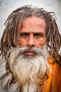 a Yogi - religious man in Pushkar
