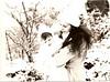 Marilyn holding Katie,  January 1978