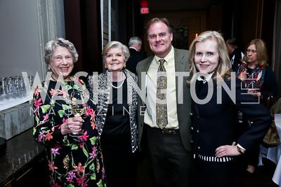 Helen Groves, Terri Lacy, Andrew Wright, Rhonda Shearer. Photo © Tony Powell. Rara Avis World Premiere Screening. Hotel Monaco. March 25, 2015