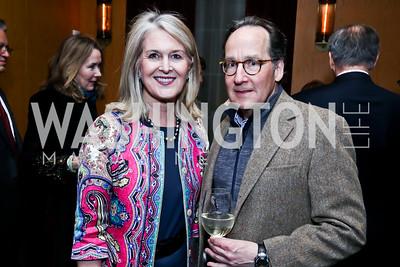 Sydney McNiff Johnson, Michael Galvin. Photo © Tony Powell. Rara Avis World Premiere Screening. Hotel Monaco. March 25, 2015