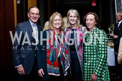 Jay Johnson, Cathy Stevens, Sydney Johnson, Cathy McGehee. Photo © Tony Powell. Rara Avis World Premiere Screening. Hotel Monaco. March 25, 2015