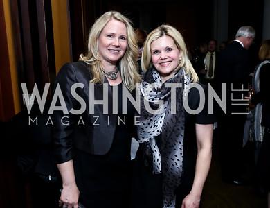 Heather Walsh, Trina Sams-Manning. Photo © Tony Powell. Rara Avis World Premiere Screening. Hotel Monaco. March 25, 2015