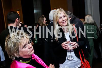 Phyllis Wyeth, Eileen Shields West. Photo © Tony Powell. Rara Avis World Premiere Screening. Hotel Monaco. March 25, 2015