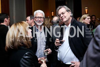 Ann and Michael Foley, Andrew Cockburn. Photo © Tony Powell. Rara Avis World Premiere Screening. Hotel Monaco. March 25, 2015
