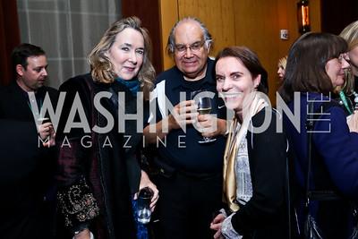Leslie Cockburn, Ted Mala, Constance Bruce. Photo © Tony Powell. Rara Avis World Premiere Screening. Hotel Monaco. March 25, 2015