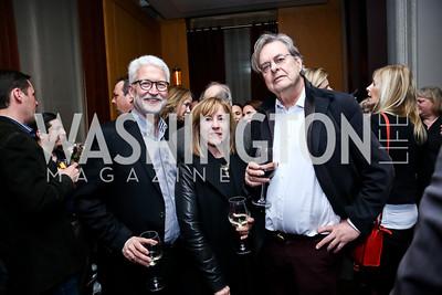 Michael and Ann Foley, Andrew Cockburn. Photo © Tony Powell. Rara Avis World Premiere Screening. Hotel Monaco. March 25, 2015
