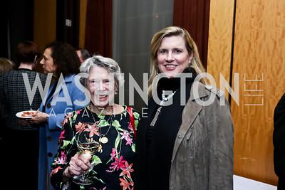 Helen Groves, Cina Alexander Forgason. Photo © Tony Powell. Rara Avis World Premiere Screening. Hotel Monaco. March 25, 2015