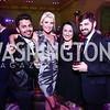 Edgard Izaguirre, Casey Brazil, Kayce Seifert, Will Murray. Photo by Tony Powell. Renwick Gallery Opening Gala: Celebrate WONDER. November 11, 2015