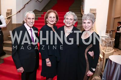 David Lawson, Beth Mendelson, Sue Myers, Beth Myers. Photo by Tony Powell. Renwick Gallery Opening Gala: Celebrate WONDER. November 11, 2015