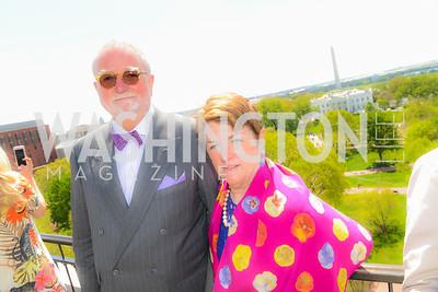 William Watts, Pam Carpenter, Thomson Reuters WHCD Brunch, The Hay Adams, Sunday, April 26, 2015, photo by Ben Droz