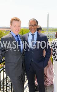 Nick Schmit, Jonathan Capehart, Thomson Reuters WHCD Brunch, The Hay Adams, Sunday, April 26, 2015, photo by Ben Droz