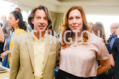 Rick Parnell, Patty Padilla, Thomson Reuters WHCD Brunch, The Hay Adams, Sunday, April 26, 2015, photo by Ben Droz
