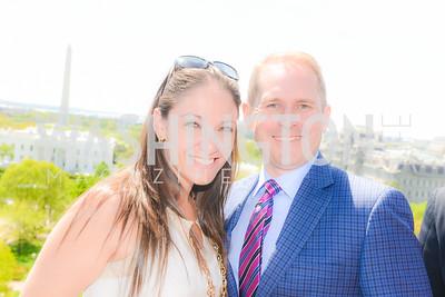 Rachel Brooke, Albert Randall, Thomson Reuters WHCD Brunch, The Hay Adams, Sunday, April 26, 2015, photo by Ben Droz