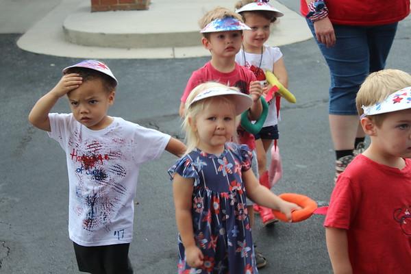 Riley's 4th of July Primrose Parade (7/3/17)
