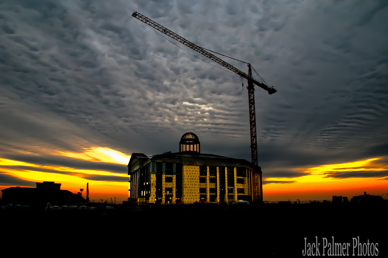 Rockwall, TX 'new courthouse under construction' 2011 photo.
